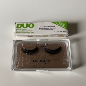 Sephora Collection Plush Luxe False Lash + DUO